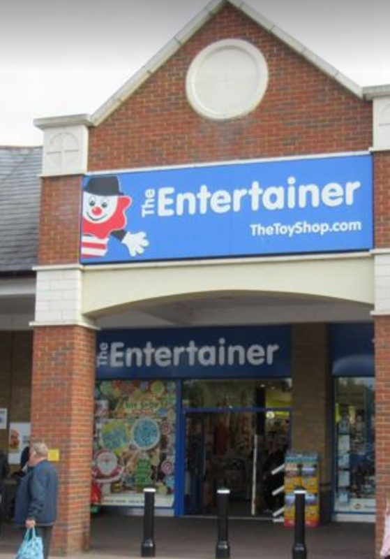 Pennies donations – The Entertainer – Thank you!