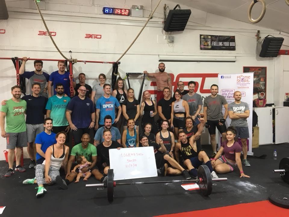 360 Ultimate Fitness 3rd birthday fundraising event for Home-Start Spelthorne