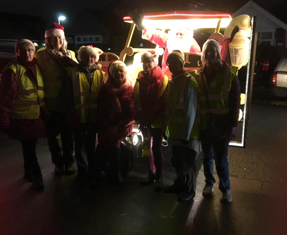 Santa Claus visited Staines and Shepperton…