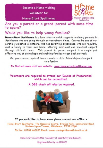Become a Home Visiting Volunteer