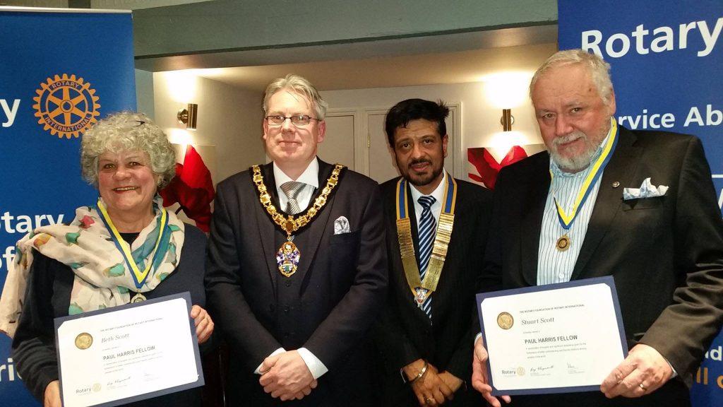 Beths Rotary Award